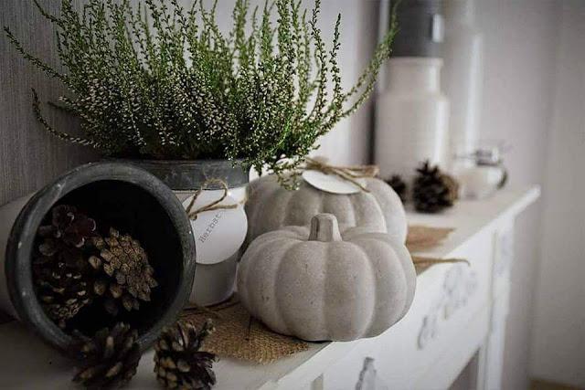 DIY Herbstdeko- Anhänger