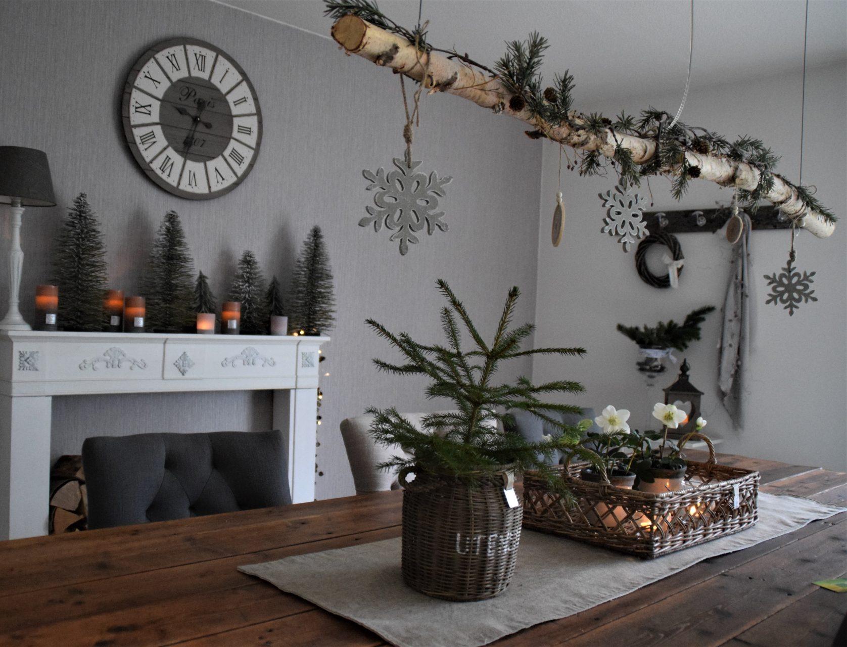 Vorbei mit Weihnachten! Jetzt stellt sich die Frage, was bleibt eigentlich an Winterdeko so stehen?