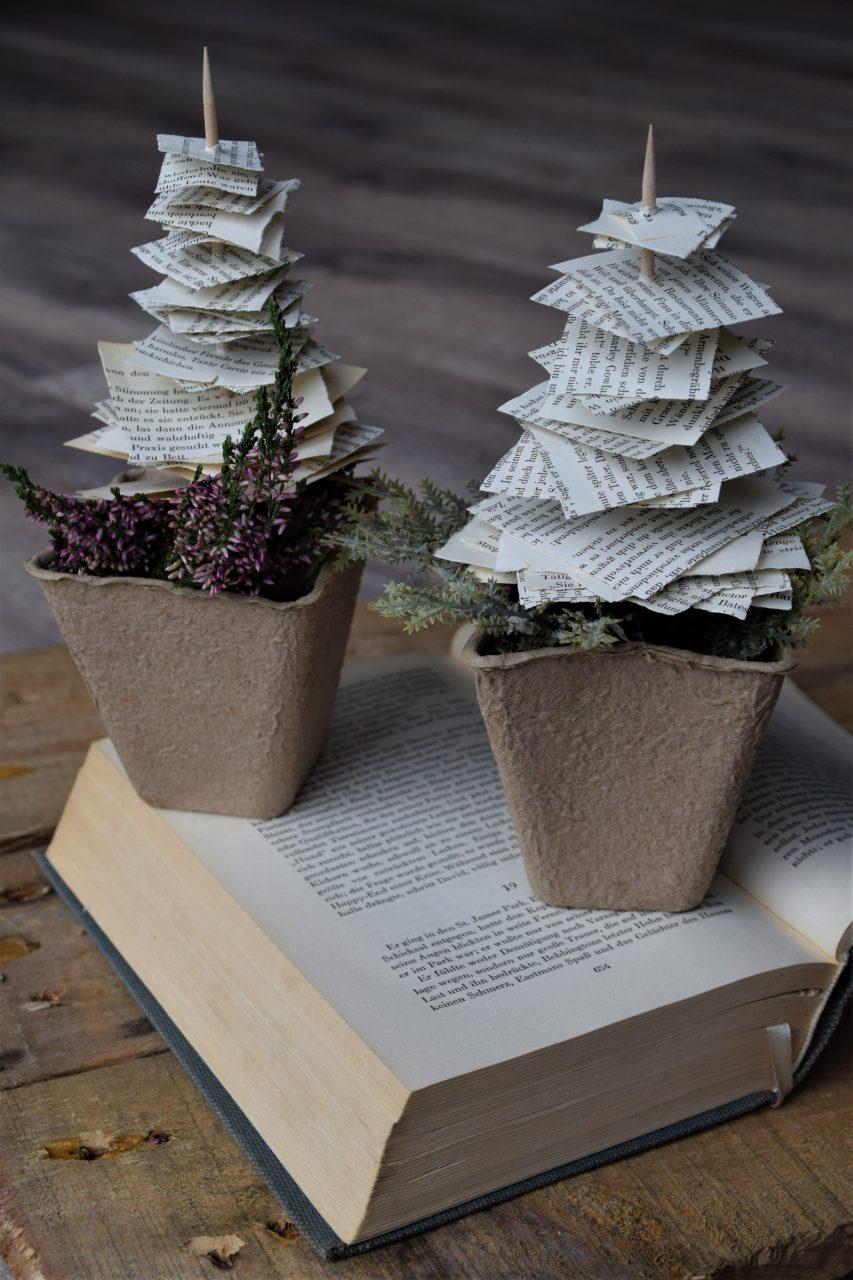 DIY Papierbaum