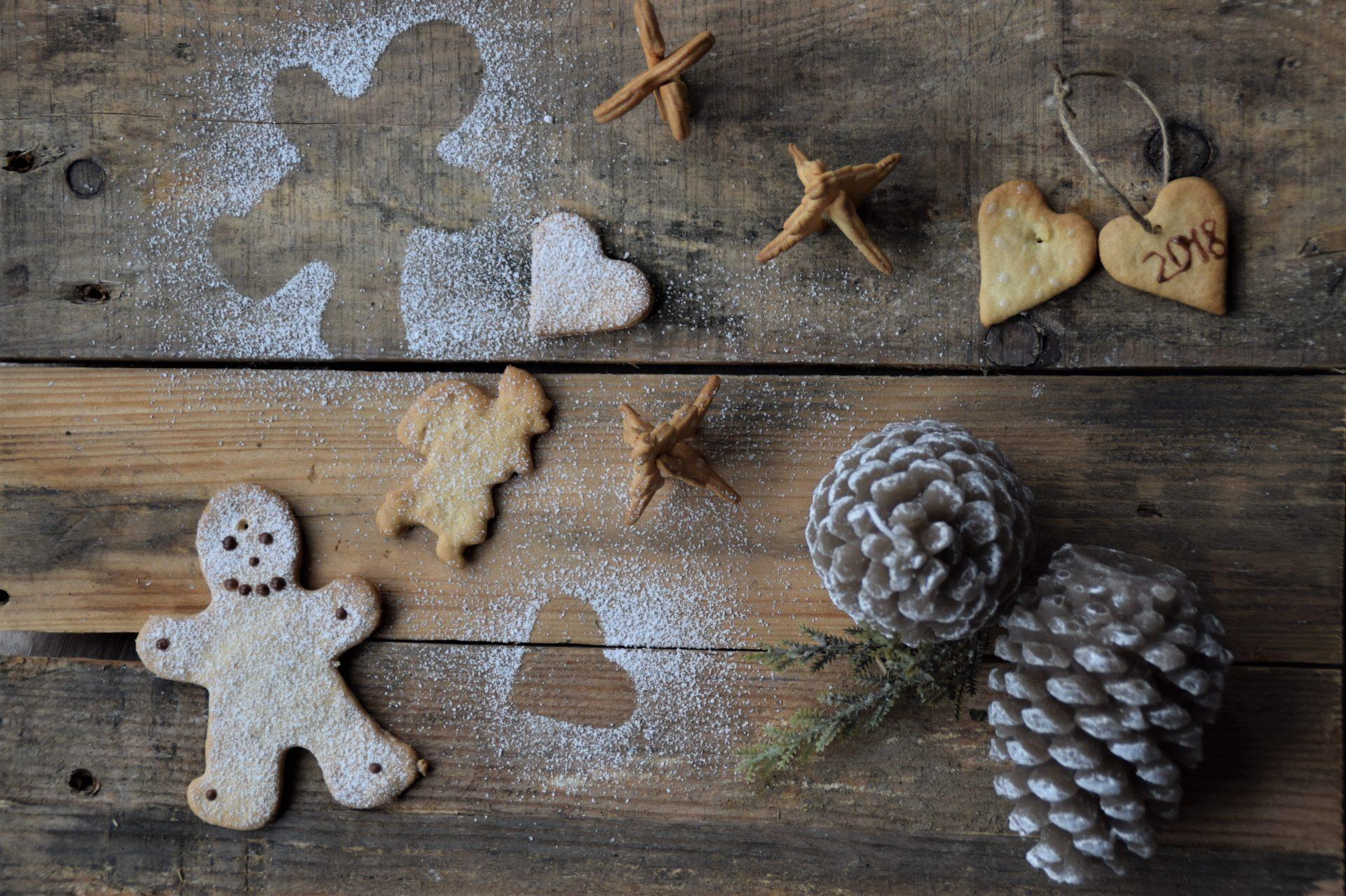 Kekse als Tischdeko oder Gastgeschenk