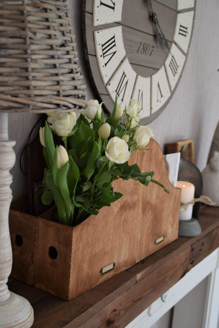 DIY Blumenkiste oder DIY Organizer