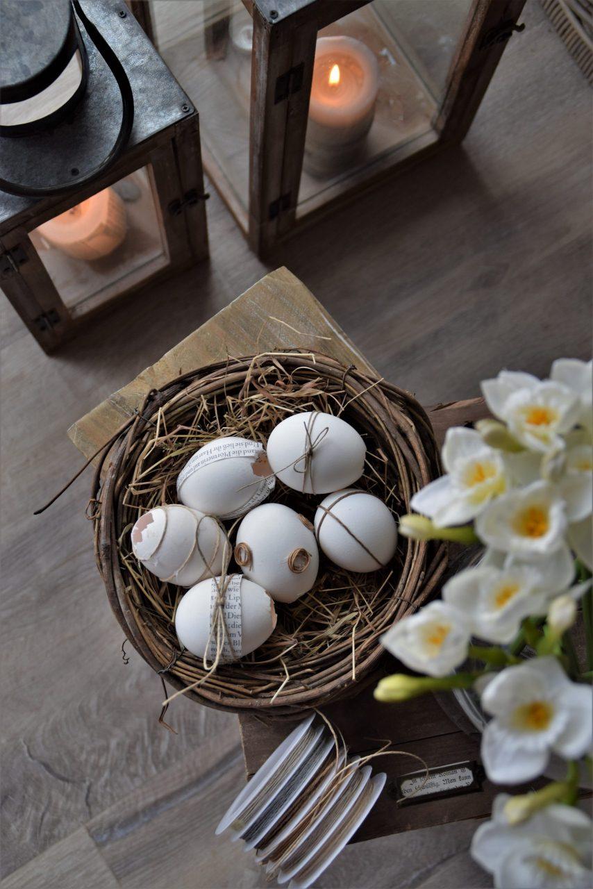 DIY Osterei verschönern