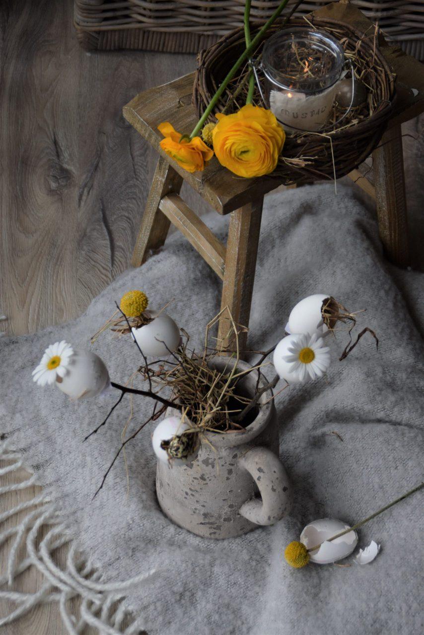DIY Blumenstecker zu Ostern