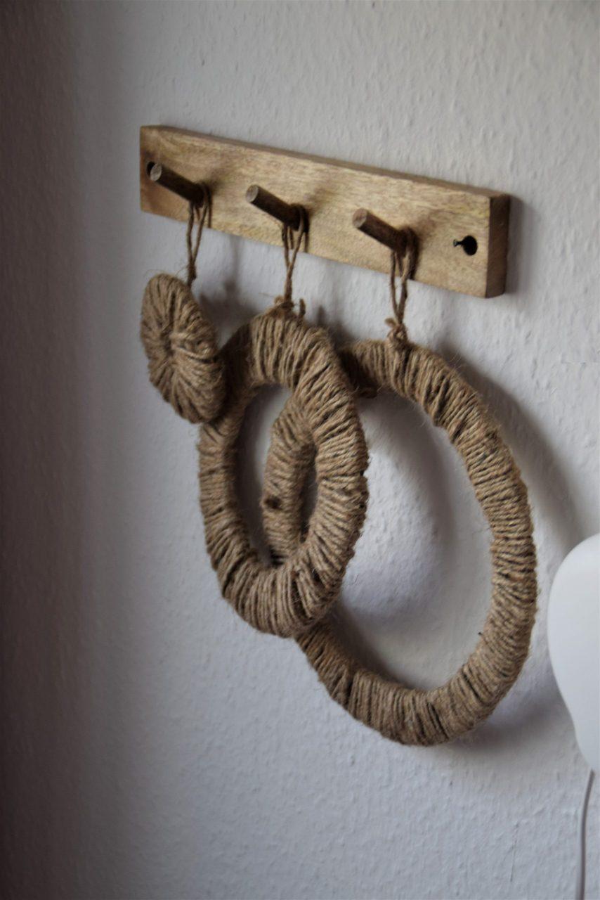 Dekorativer DIY Jutering