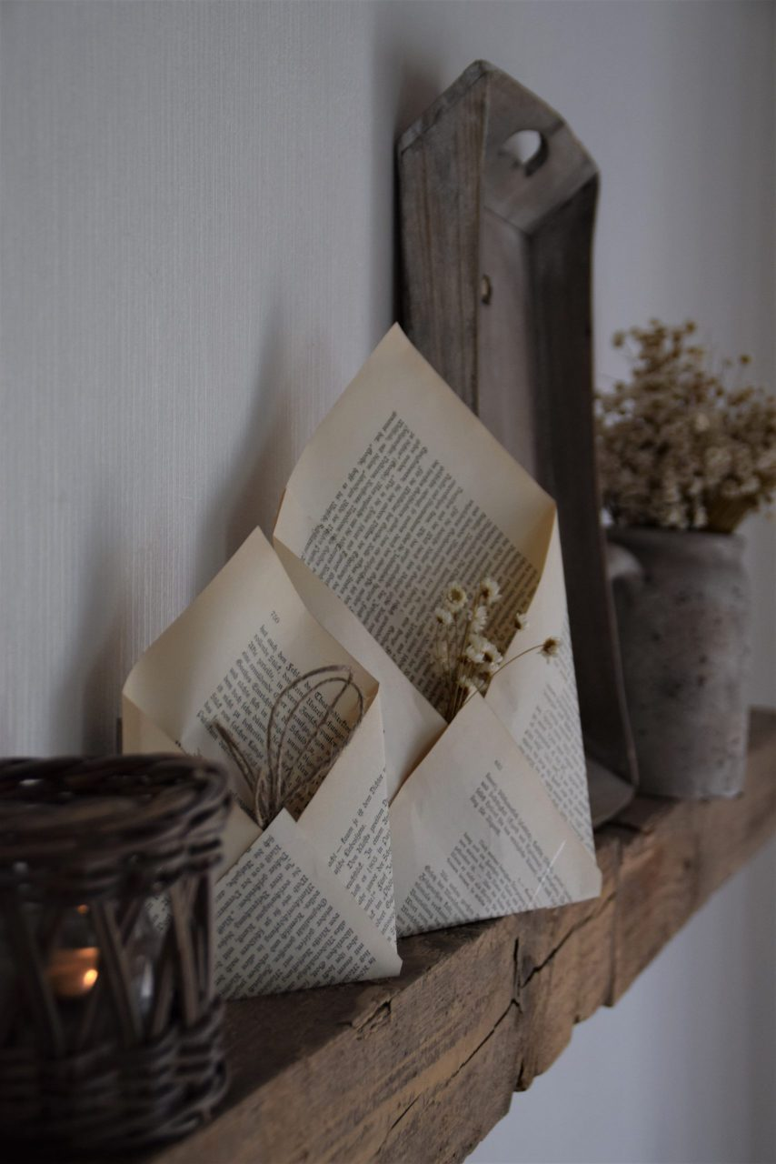 DIY Briefumschlag als dekorativer Hingucker