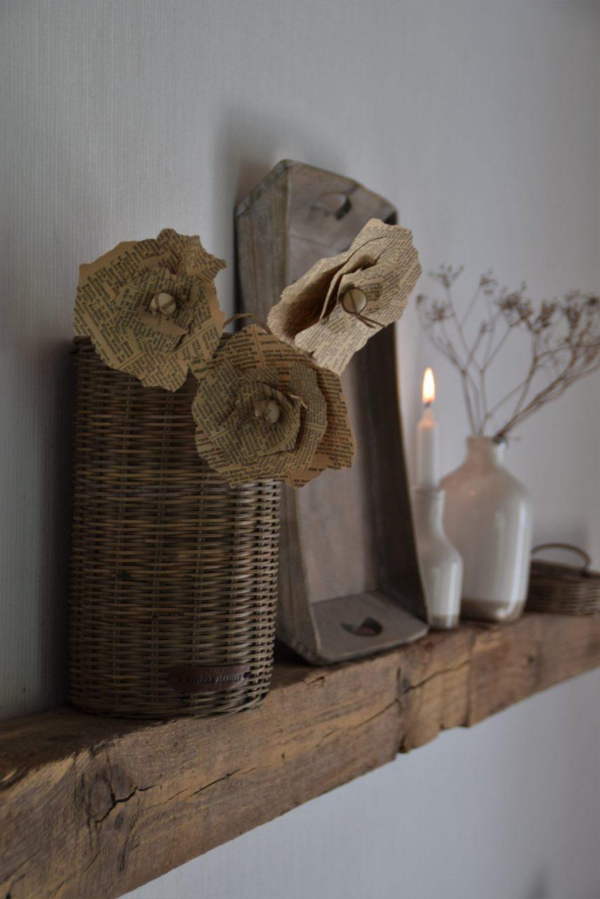 DIY Mohnblüte aus Papier